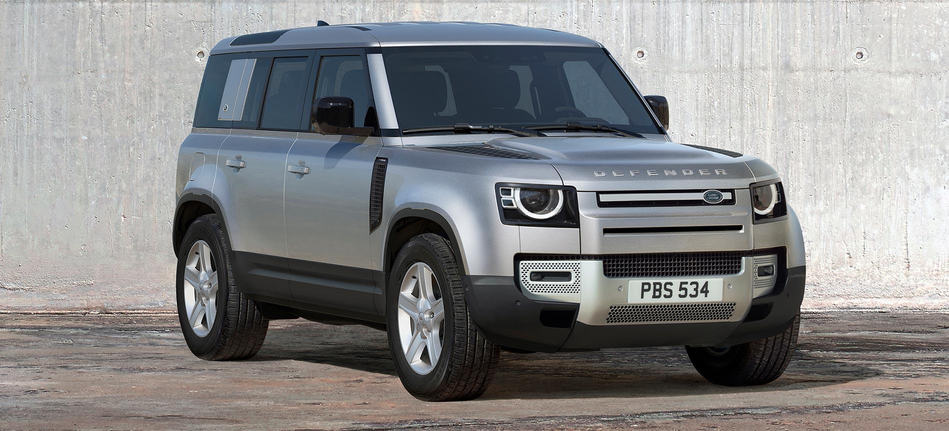 2020 Land Rover Defender 50 highlights news