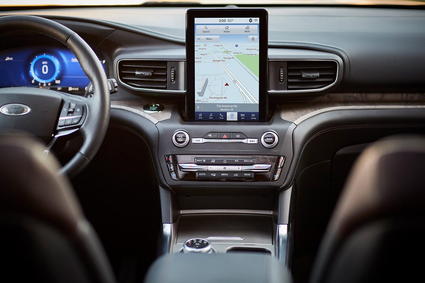 2019 Ford Explorer interior technology