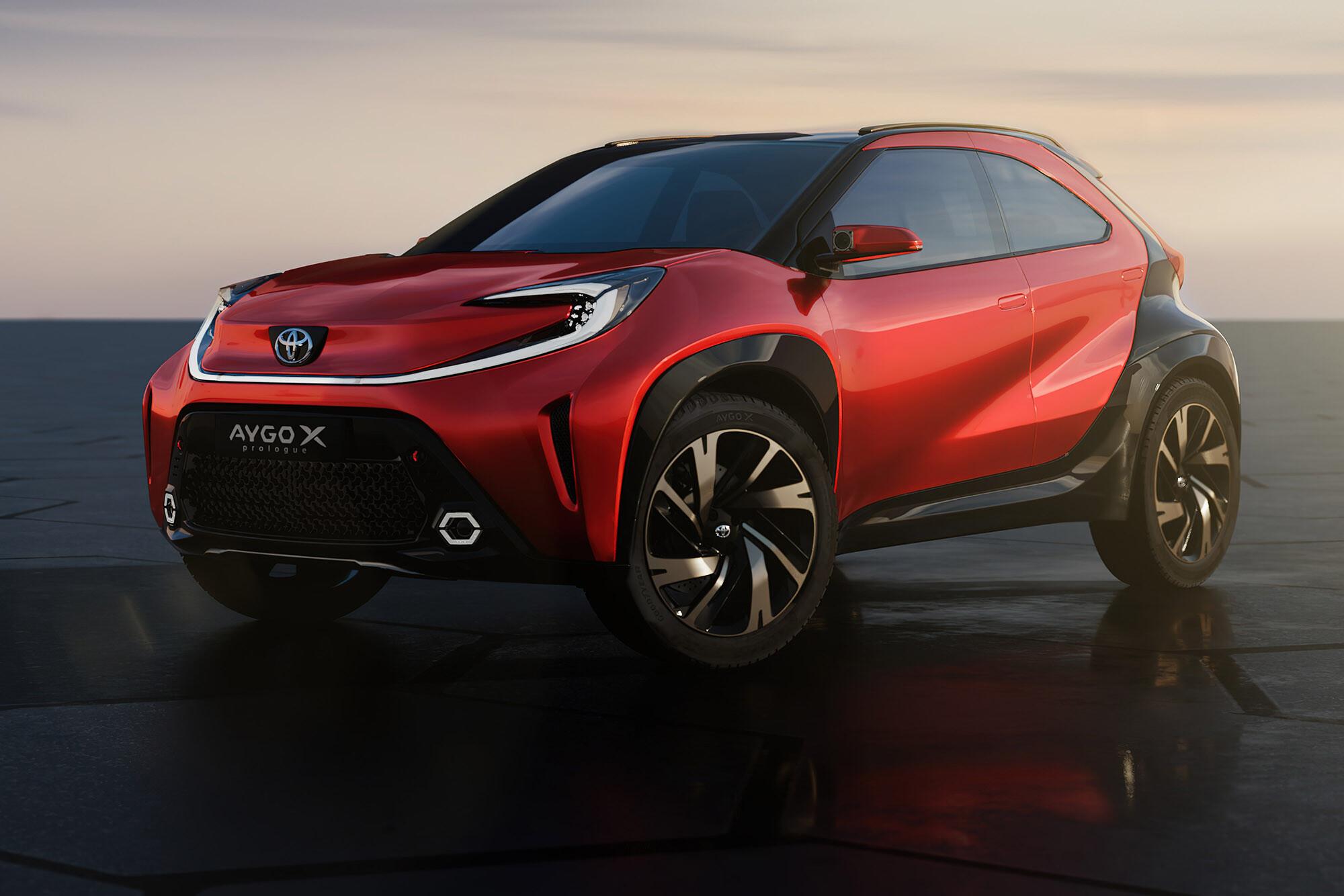 2021 Toyota Aygo X Concept Toyota Aygo Cross Concept 4 Jpeg