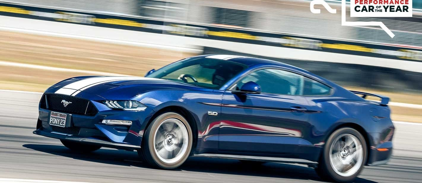 Performance Car of the Year 2019 9th place Ford Mustang GT