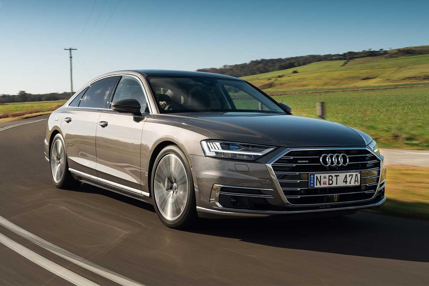 2019 Audi A8 55 TFSI performance review