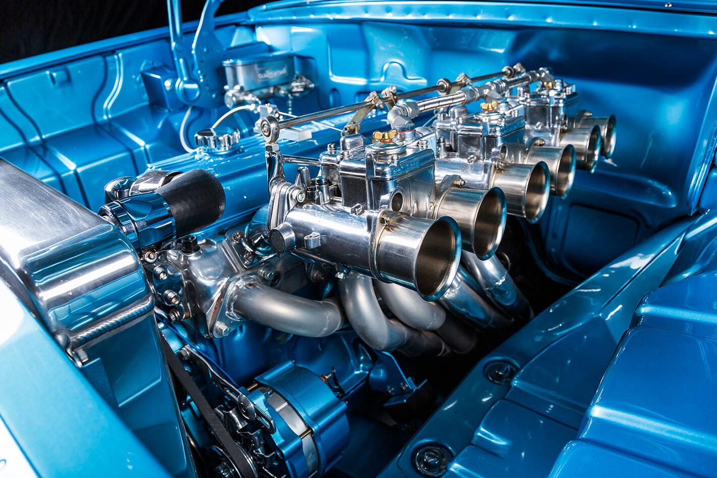 Holden EH wagon engine