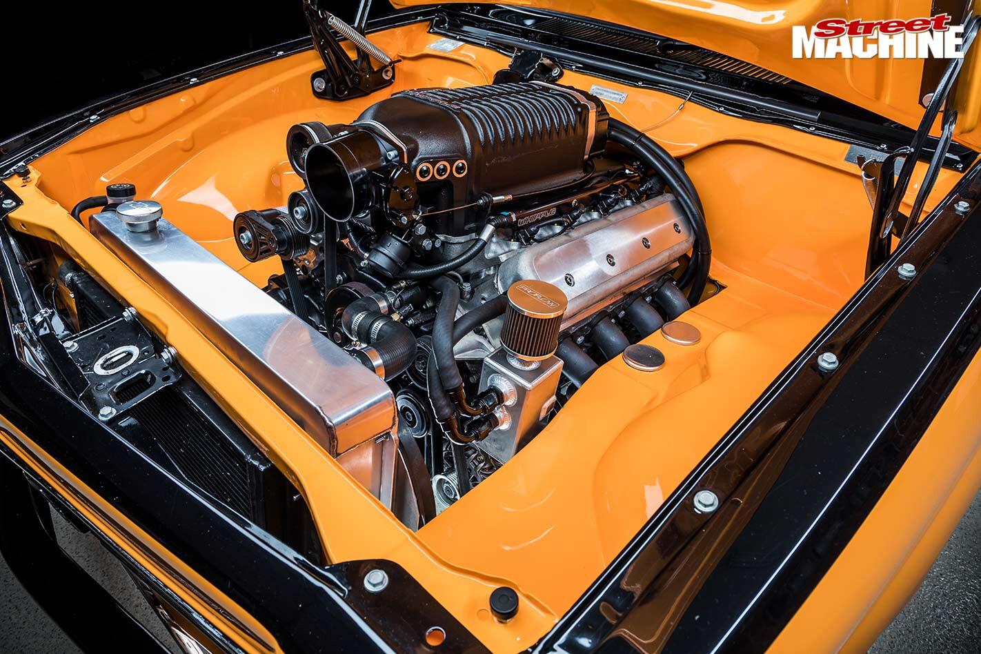 Holden LX Torana engine bay