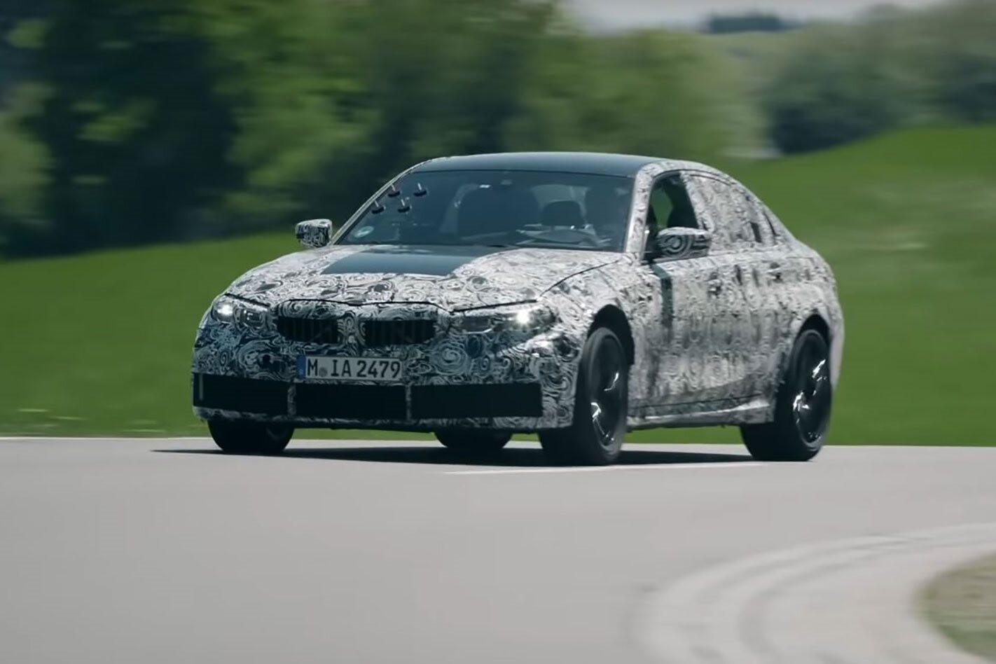2021 G80 BMW M3 Nurburgring development video teaser