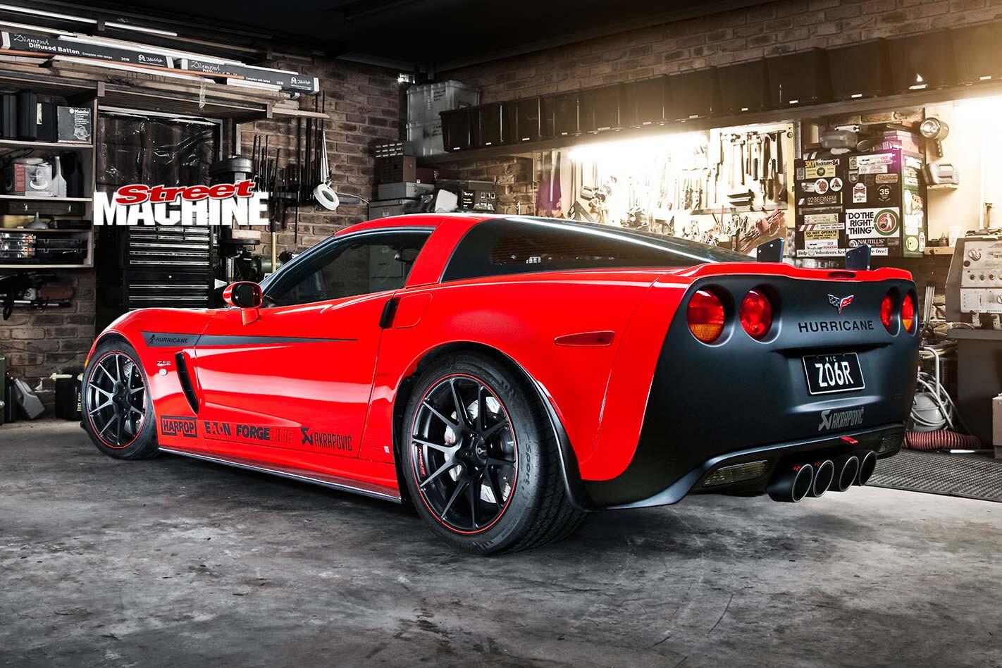 Chevrolette Corvette Z06 rear