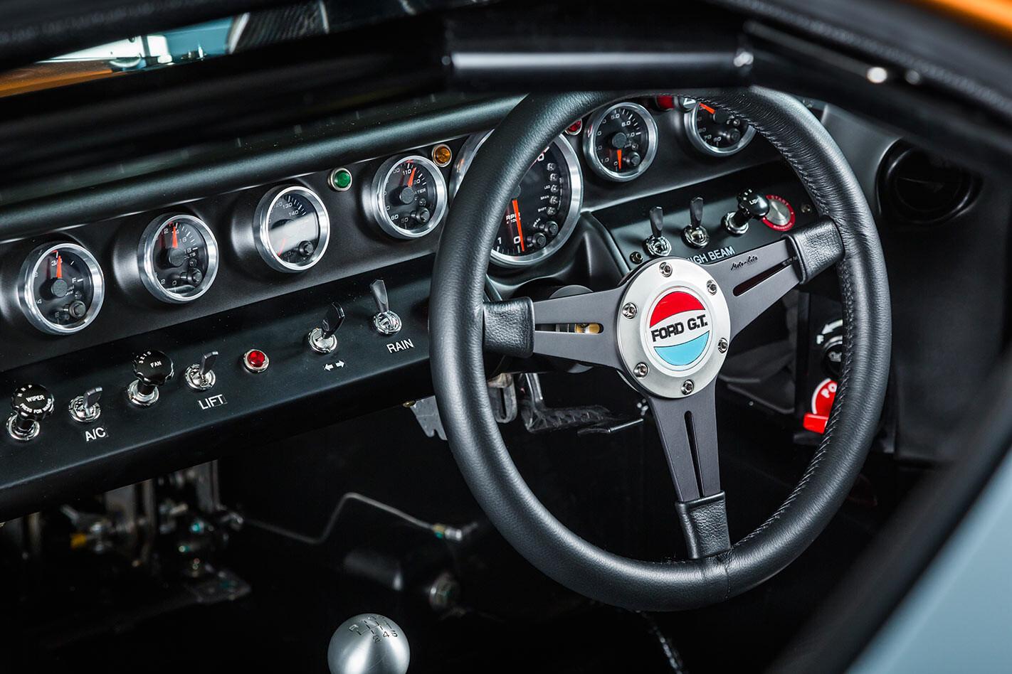 Ford GT40 dash