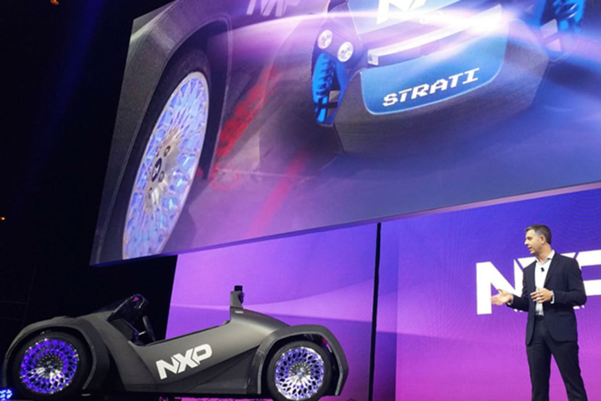 NXP Strati on stage