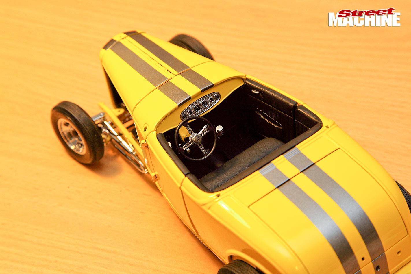 model car kit pieces