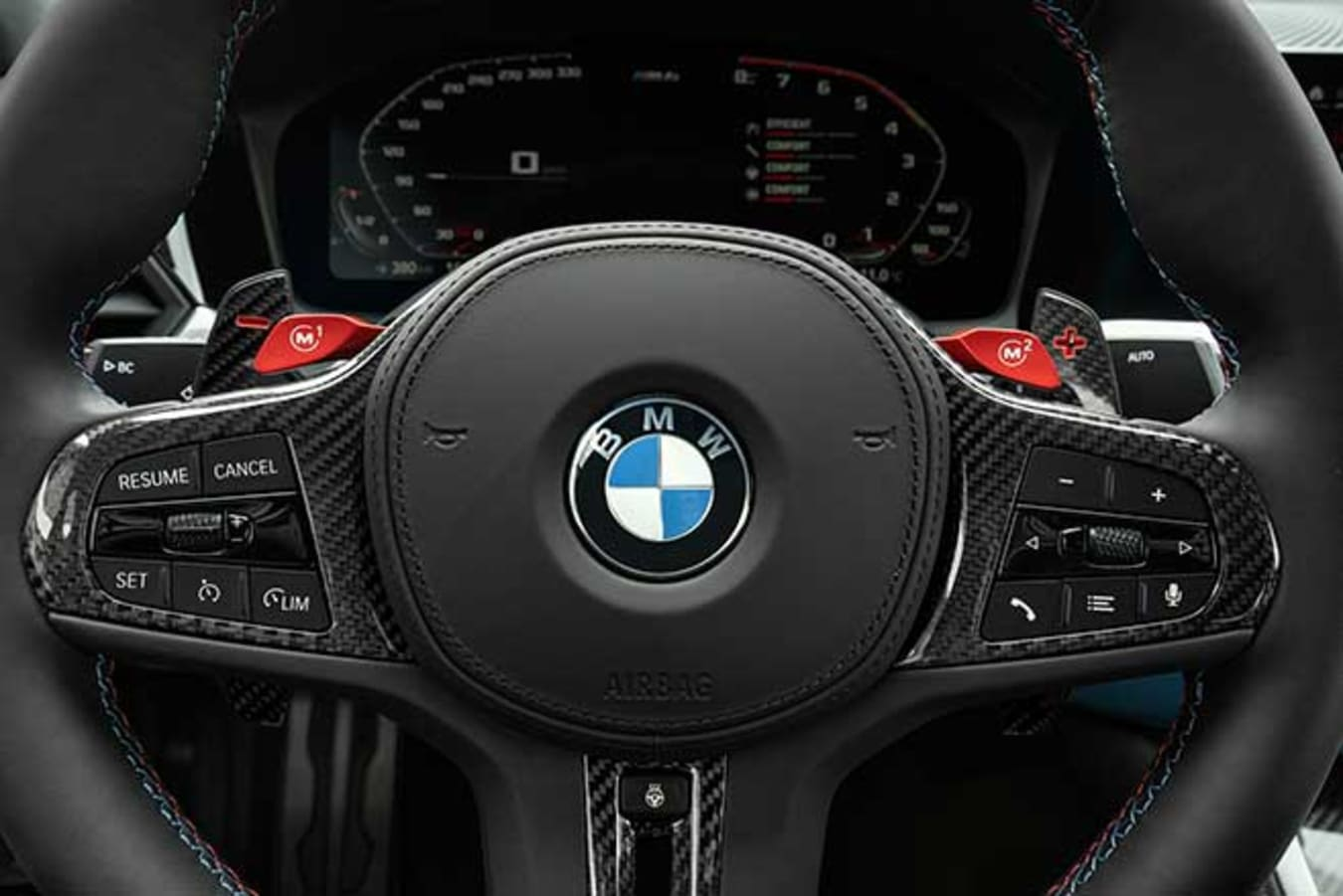The BMW G80 M3 is available with an automatic gearbox for the first time.