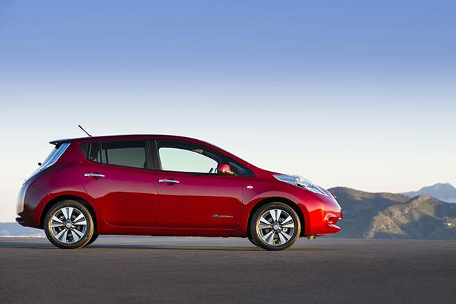 EV hybrid sales NISSAN LEAF