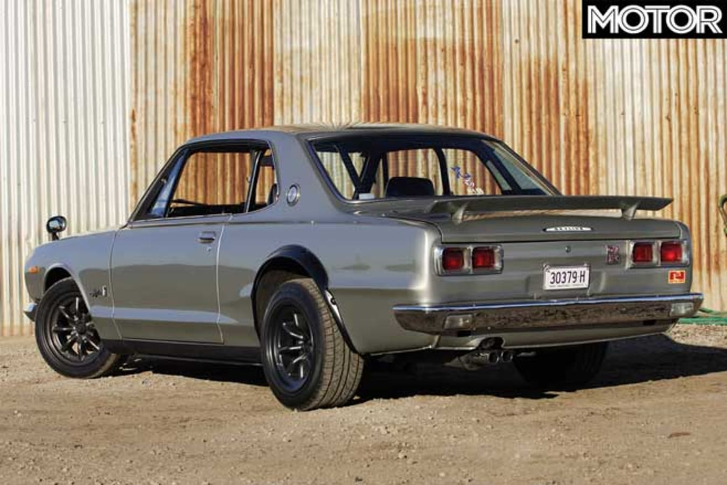 1969 Nissan Hakosuka Skyline GT R Rear Jpg
