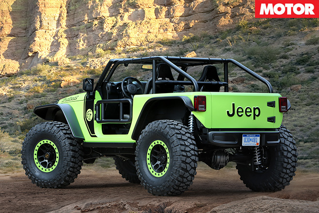 Jeep Wrangler trailcat rear