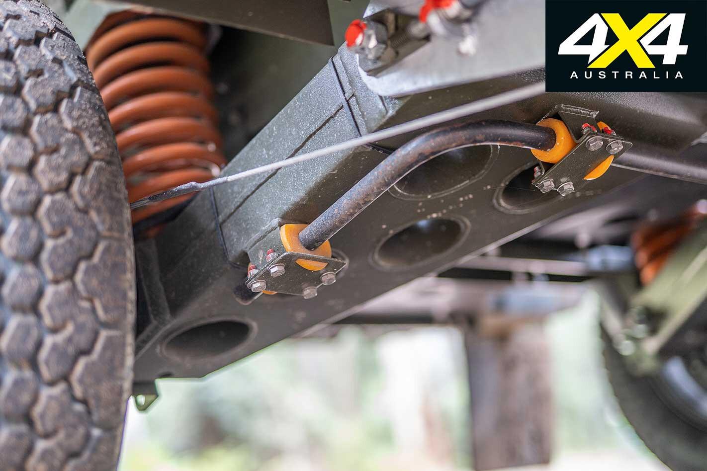 Conquerer UEV 490 Camper Trailer Suspension Jpg