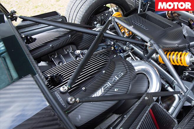 Pagani Huayra BC engine