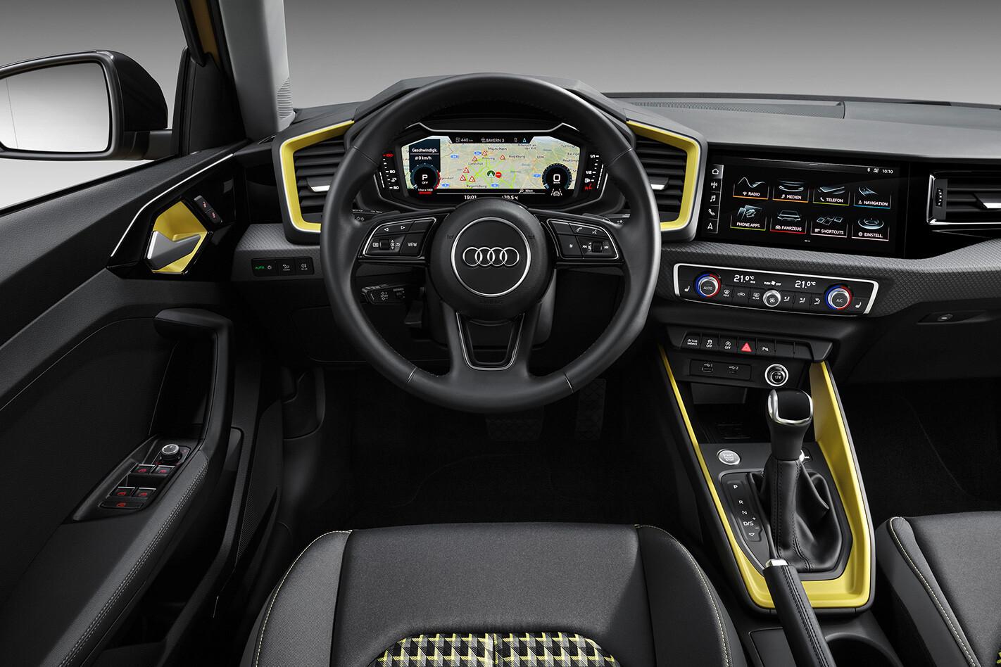 Audi A 1 Interior Jpg