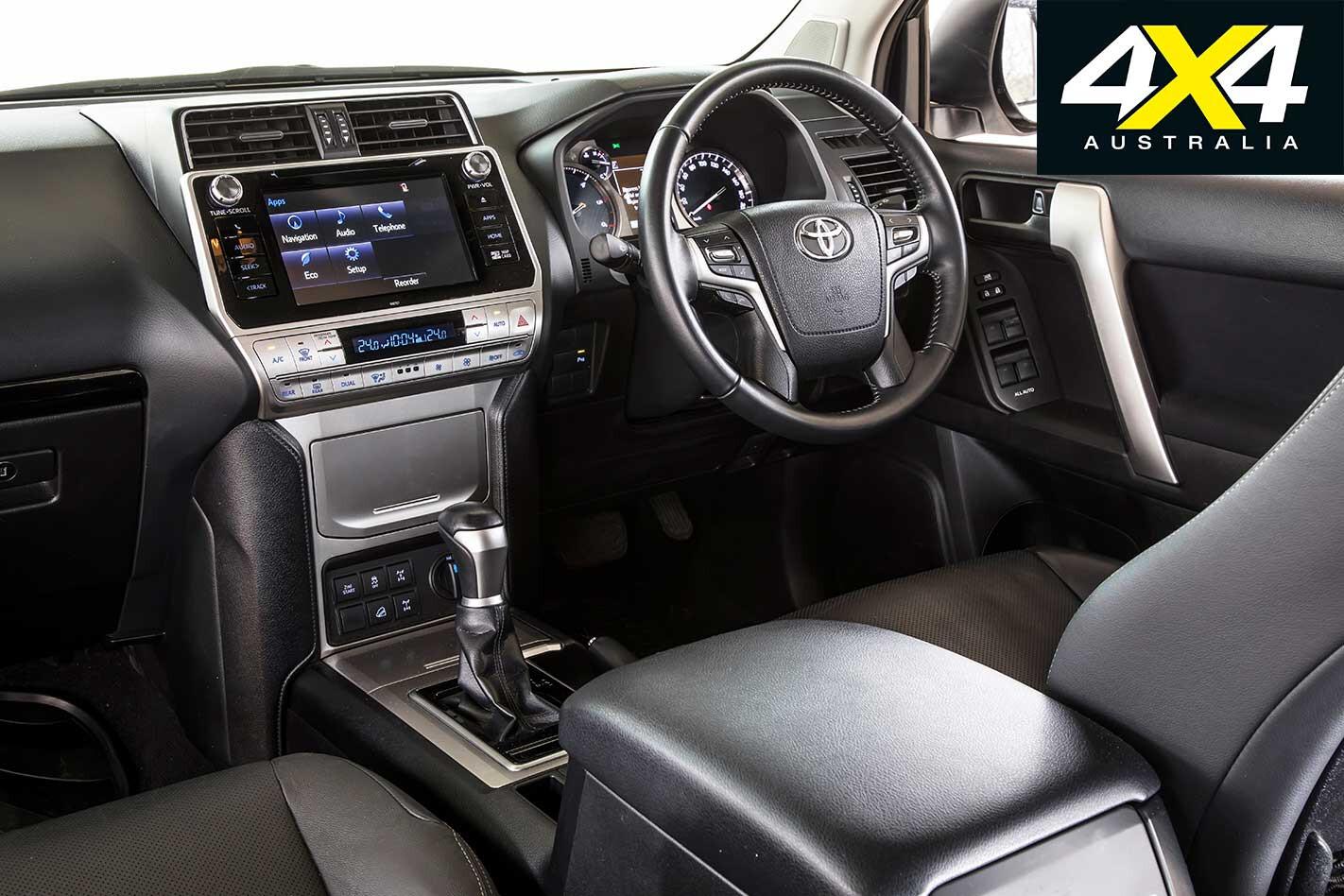 2018 Toyota Prado Interior Jpg
