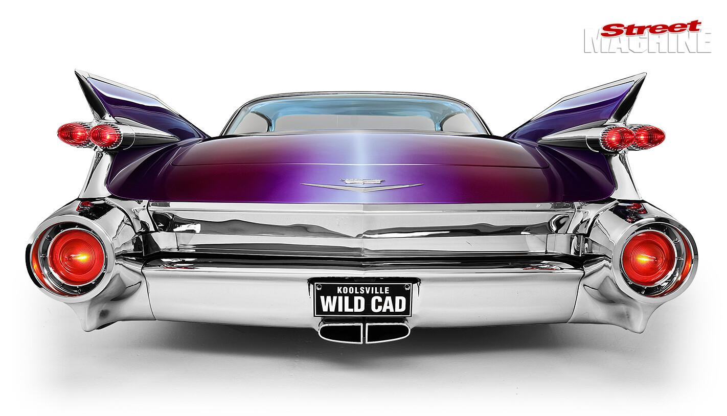 Custom Cadillac rear