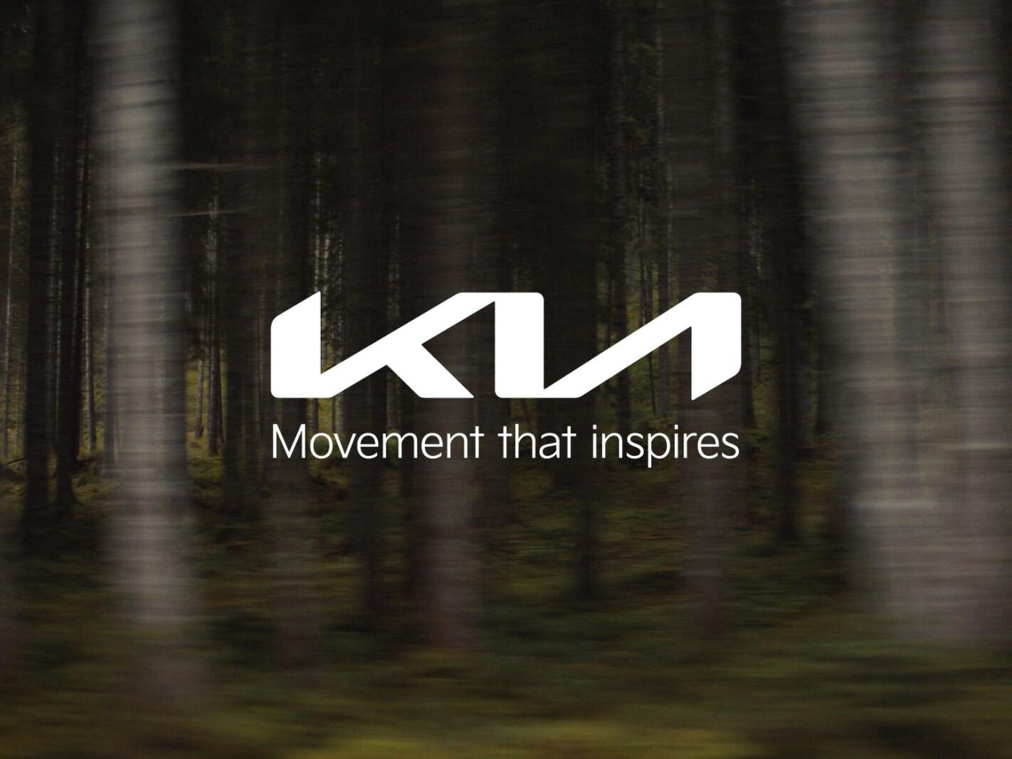 Kia rebranded identity 2021