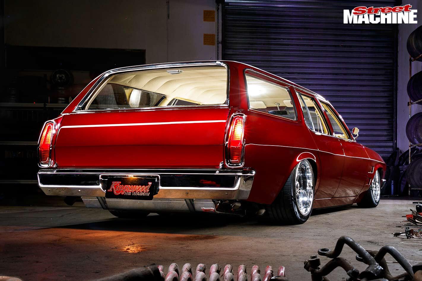 Holden HQ wagon rear