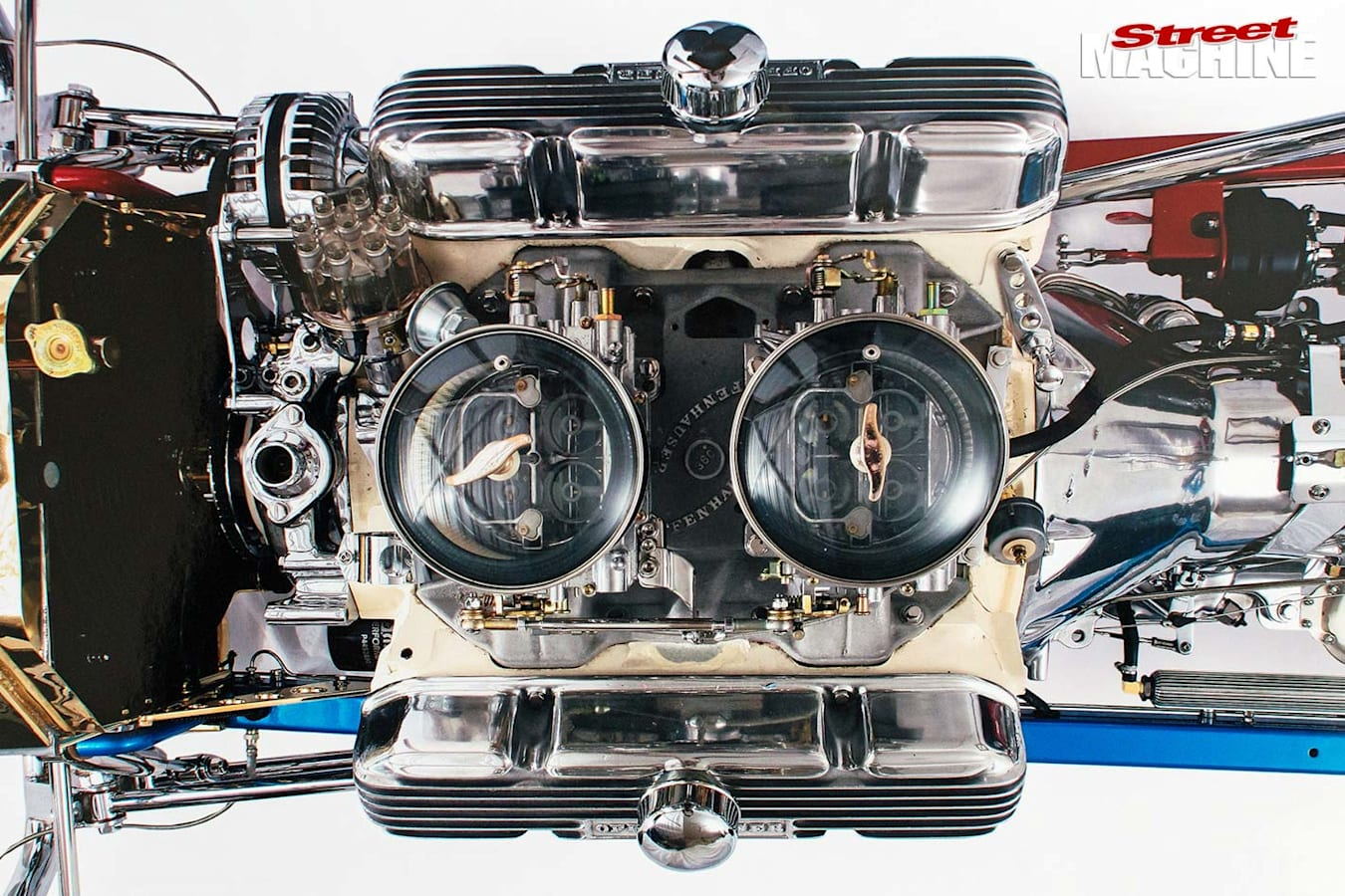 Ford T-Bucket engine