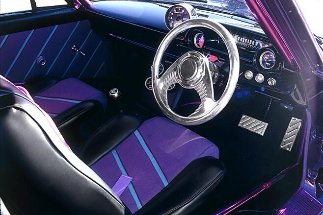 1964 Ford Galaxie interior