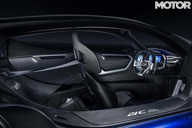 Czinger 21 C Lightweight Interior Jpg