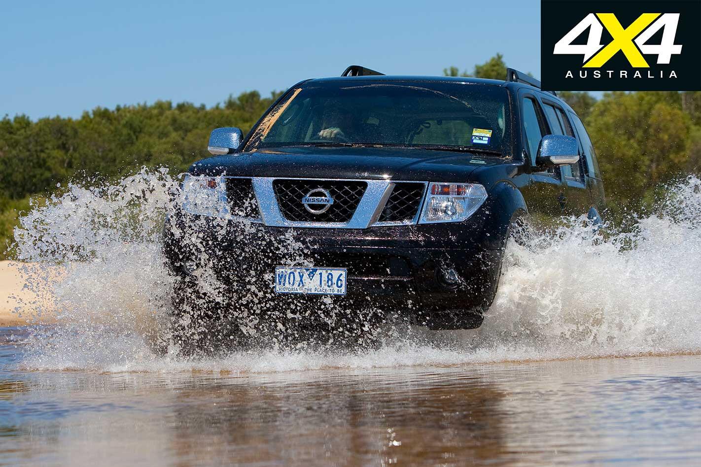 2009 Nissan Pathfinder Water Wading Jpg