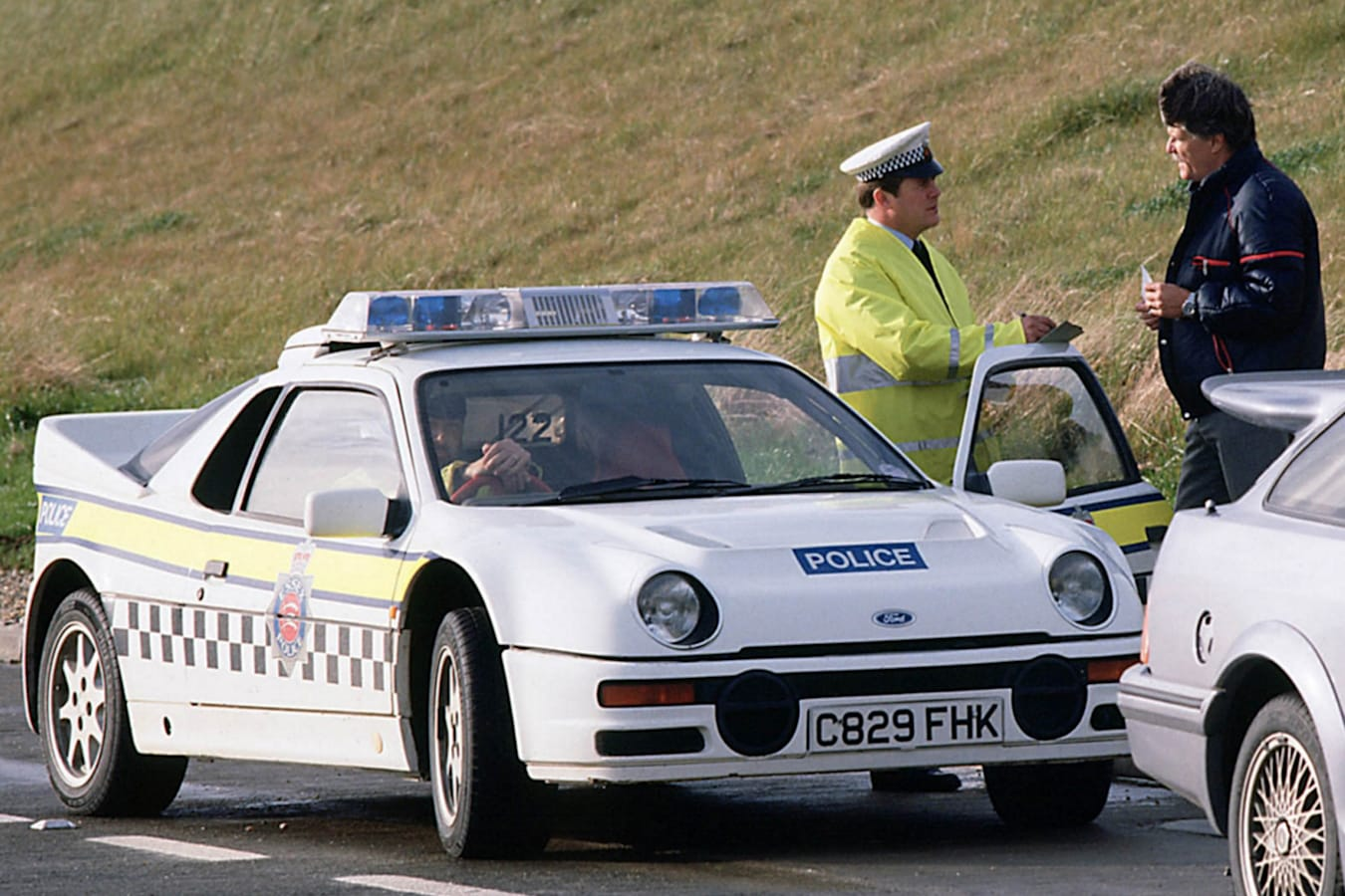 Ford RS200 police