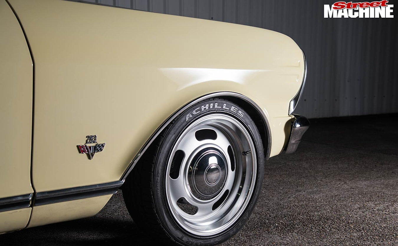 Chevy Nova wheel