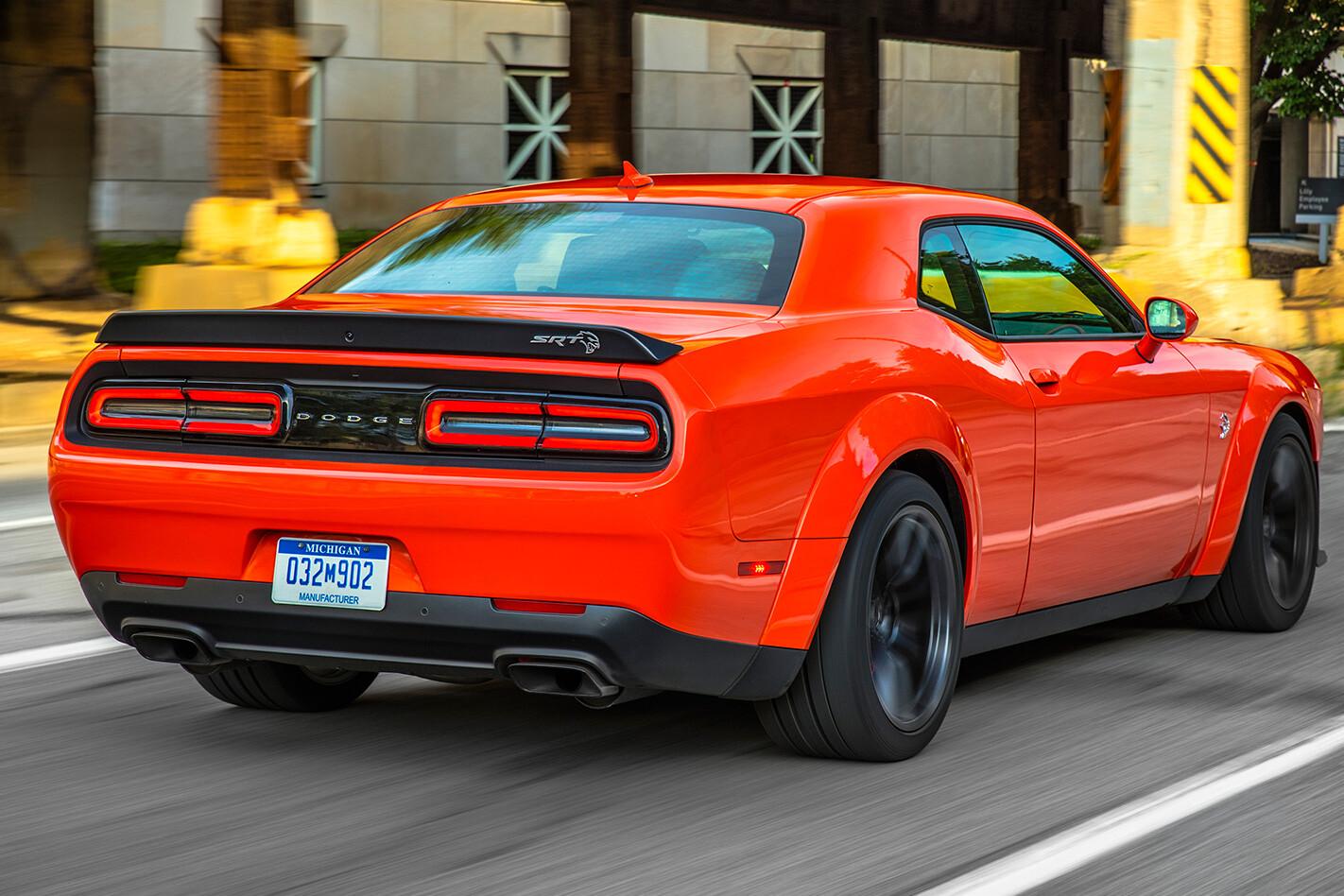 2018 Dodge Challenger SRT Demon rear