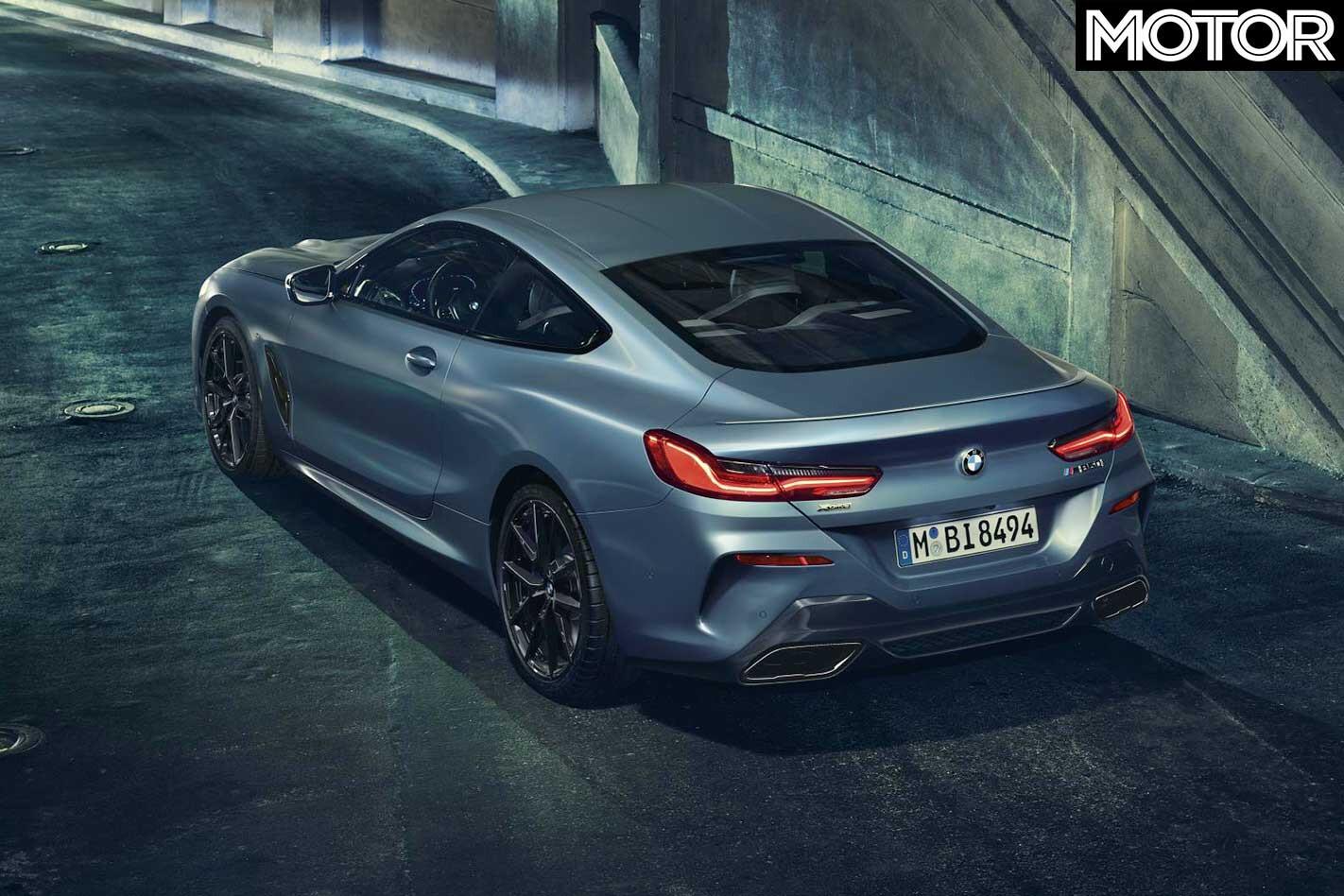 2019 BMW M 850 I X Drive First Edition Rear Jpg