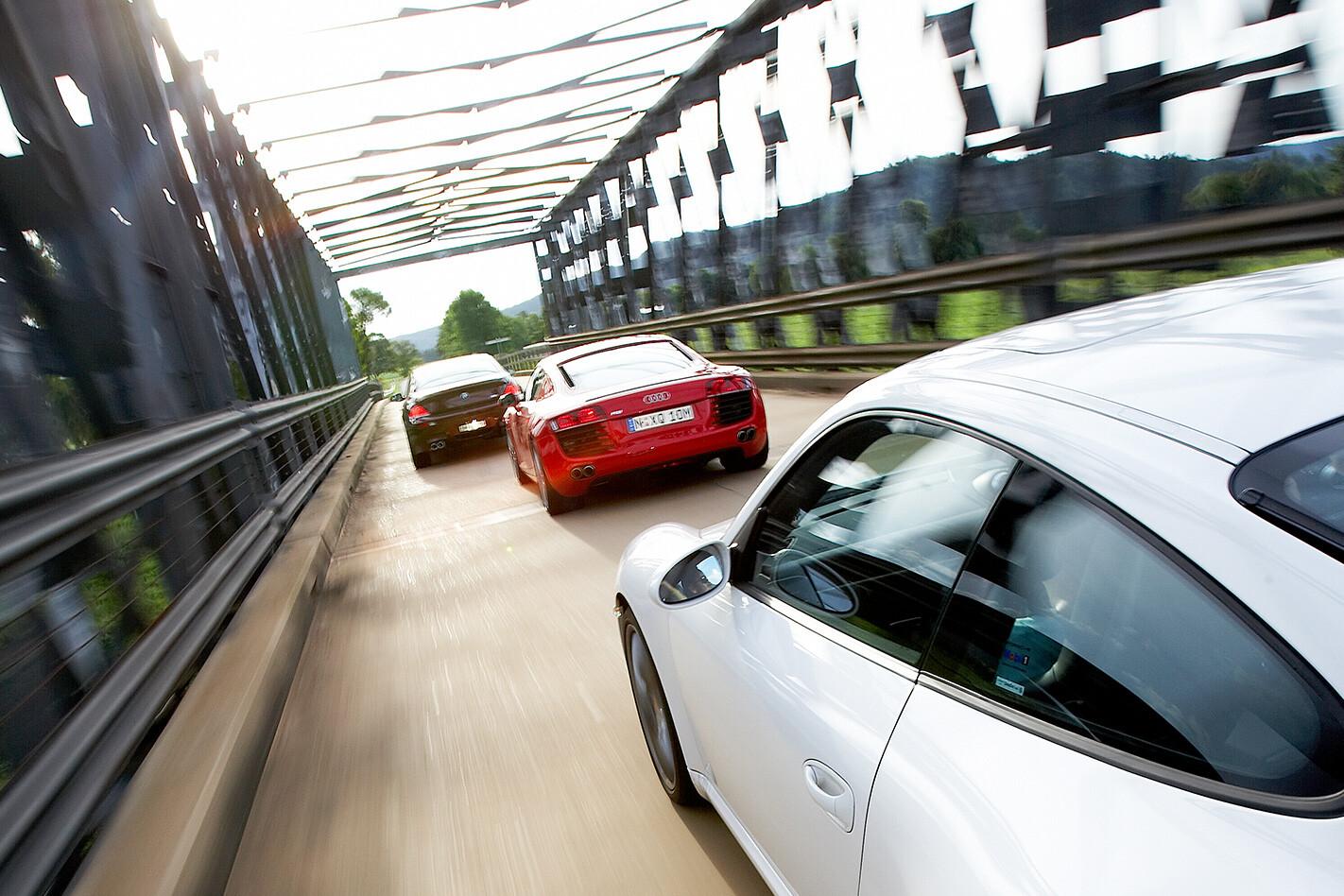 2008 Audi R8 rear