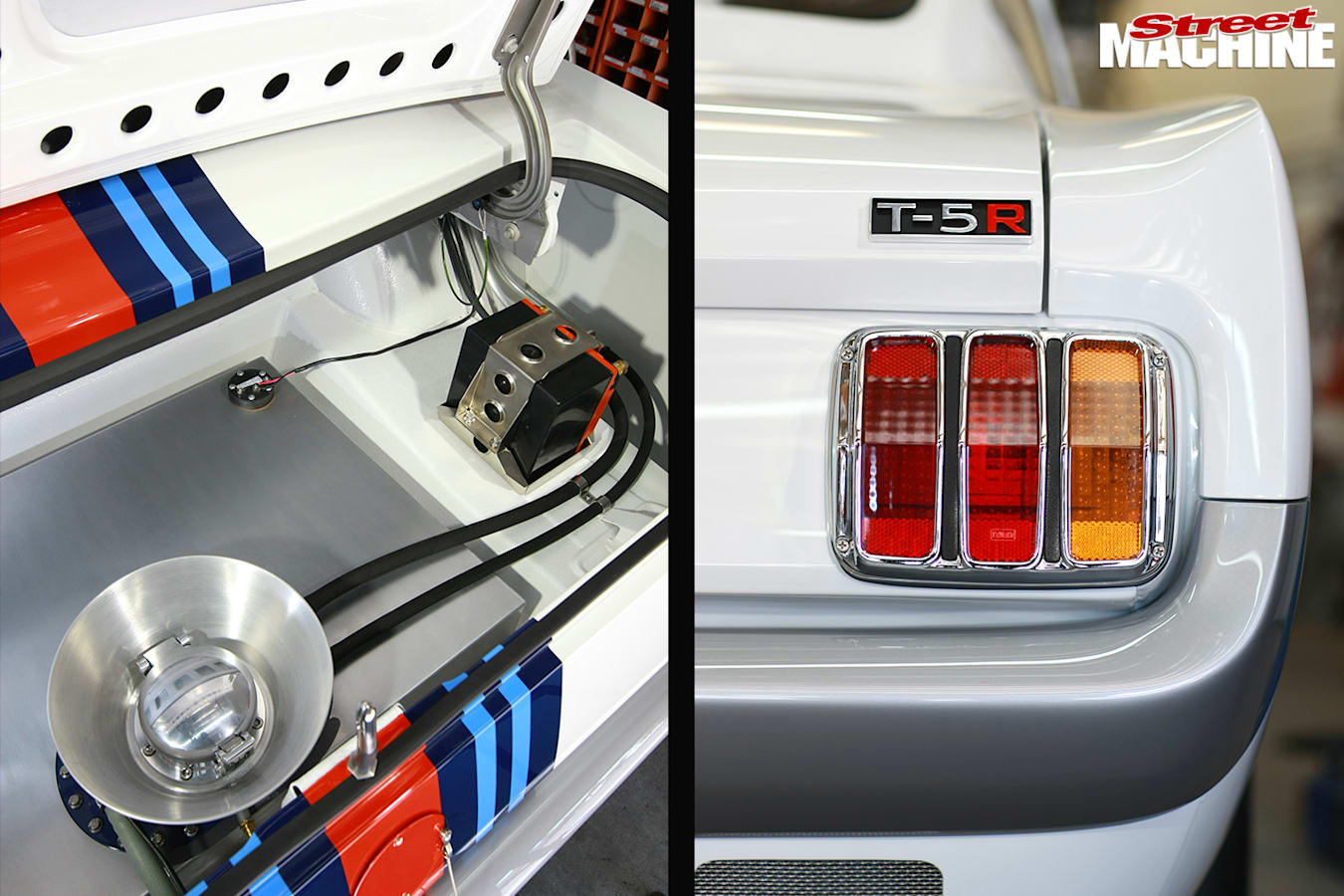 Mustang -boot -rear -tail -light