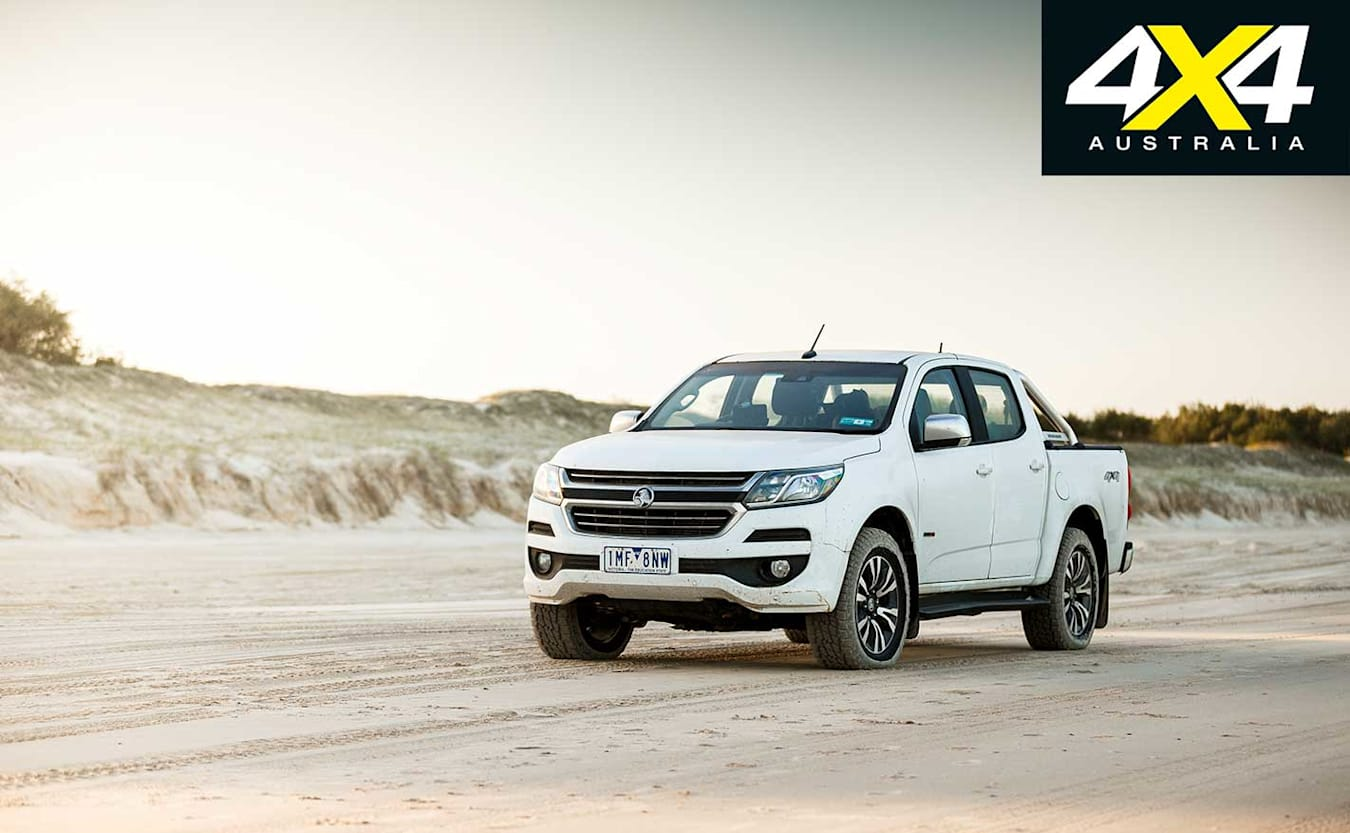 2018 Holden Colorado LTZ