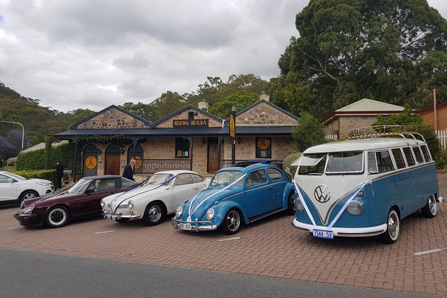 Paul O'Loughlin's wedding cars