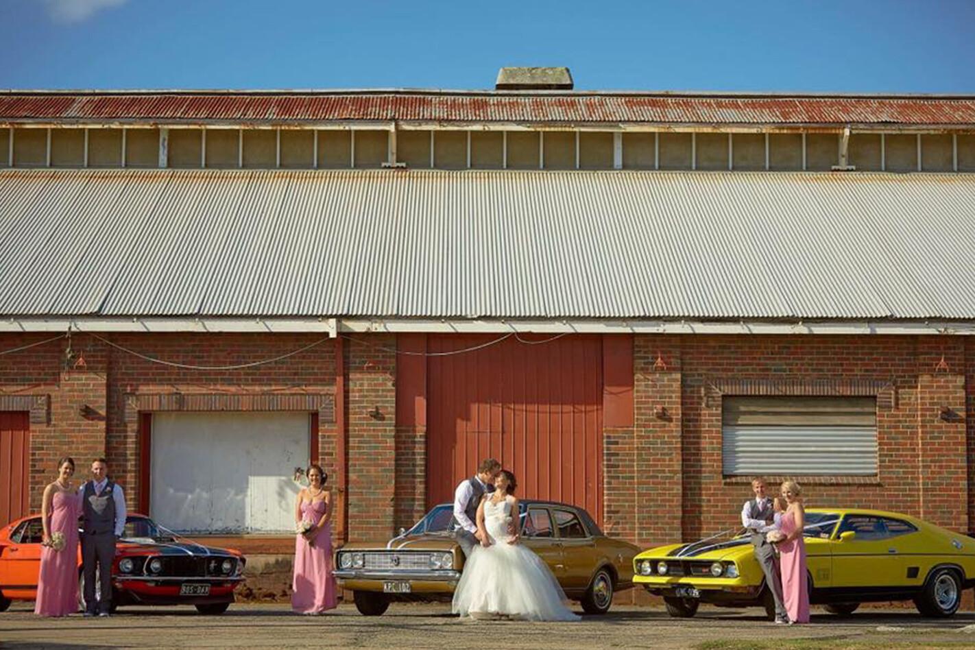 Mitchell Hynd's wedding cars