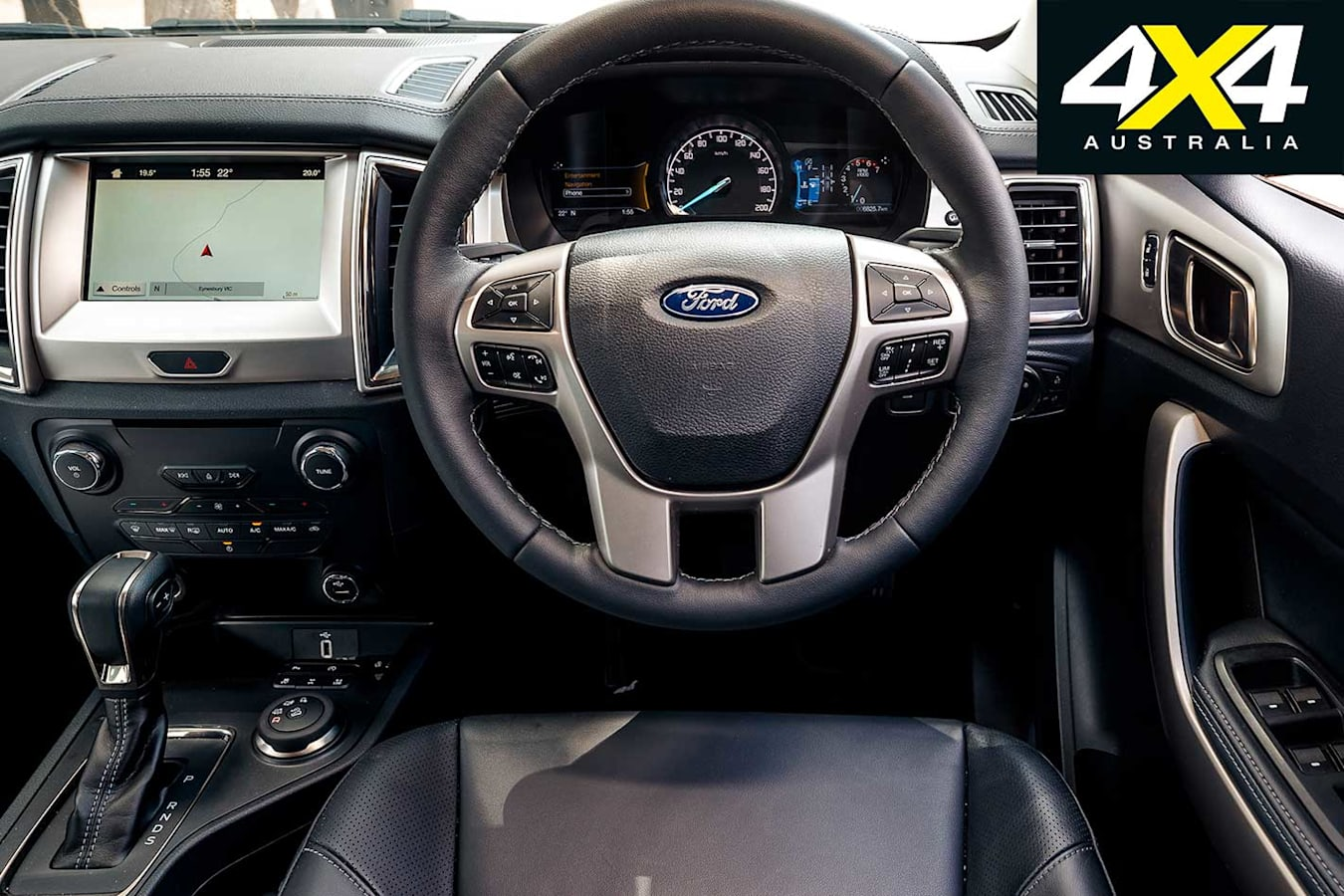 2019 4 X 4 Of The Year Ford Everest Trend Interior Jpg