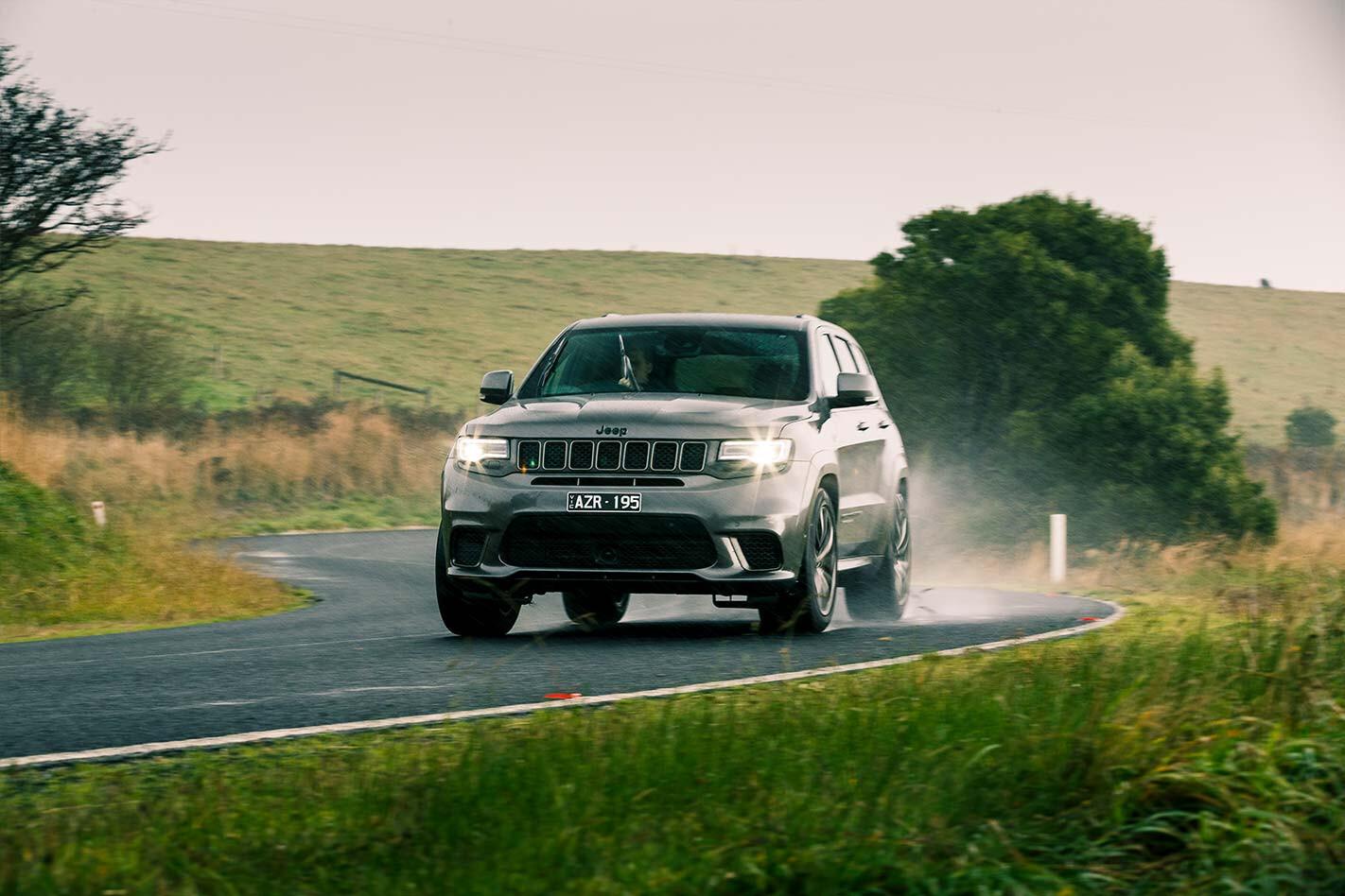 Motor Jeep Trackhawk road test