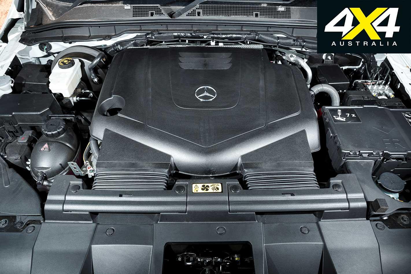 2019 Mercedes Benz X 350 D Engine Jpg