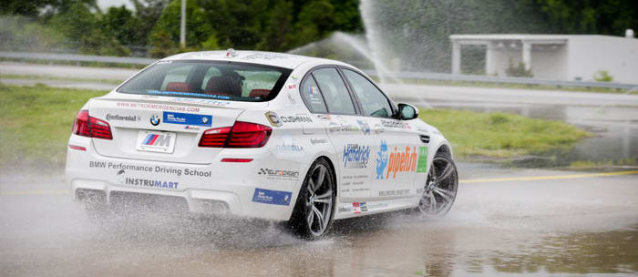 BMW, drift, record, smashed, M5, america, Wheels magazine, new, interior, price, pictures, video