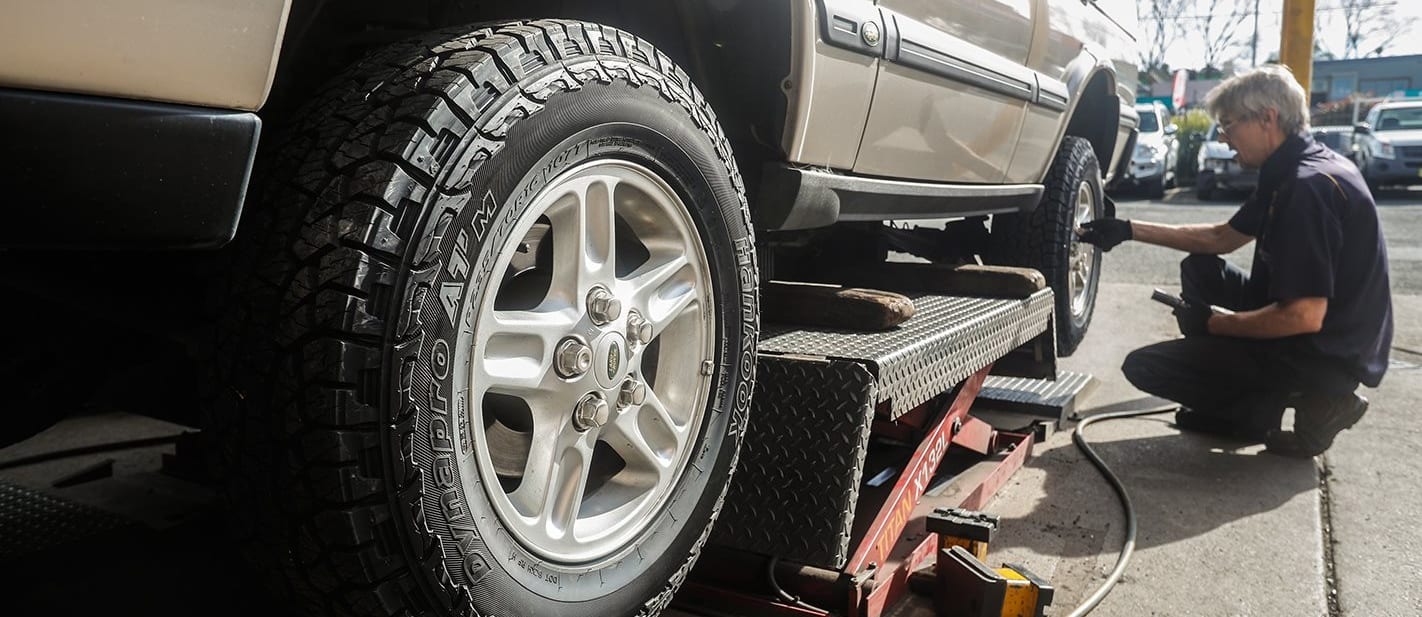 2003 Land Rover Discovery TD5 Hankook tyres
