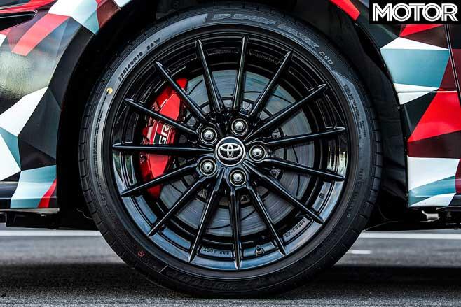 Toyota GR Yaris Prototype Tyre Jpg