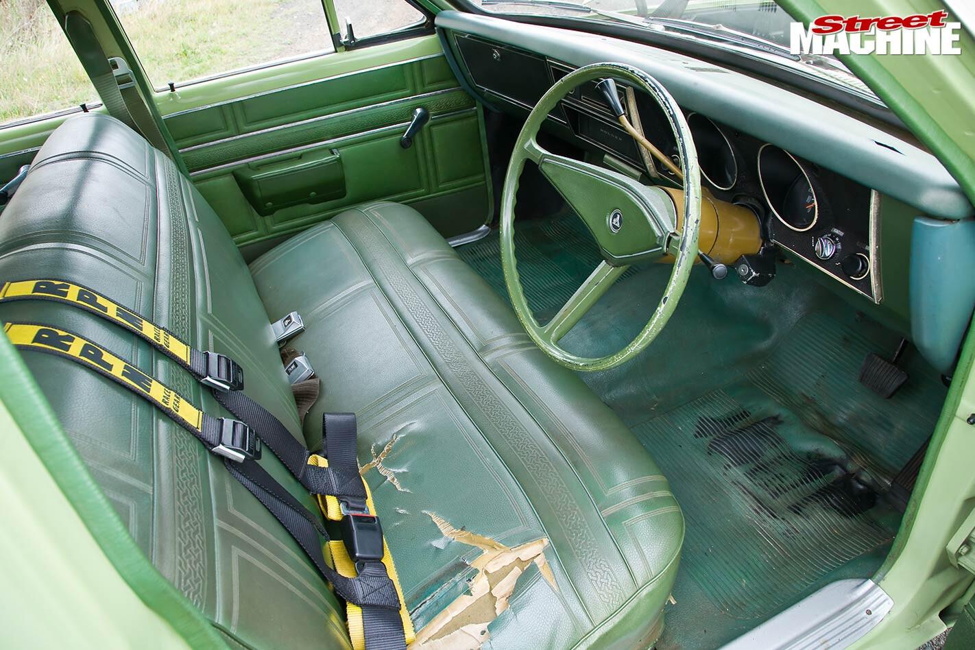 Holden HT Kingswood interior