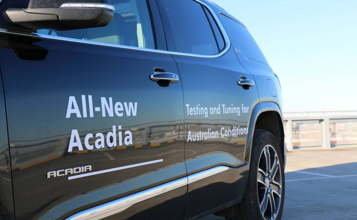 Holden Acadia side