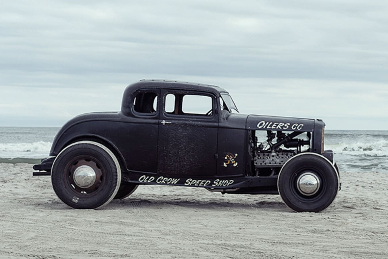 Ford 5 window coupe side