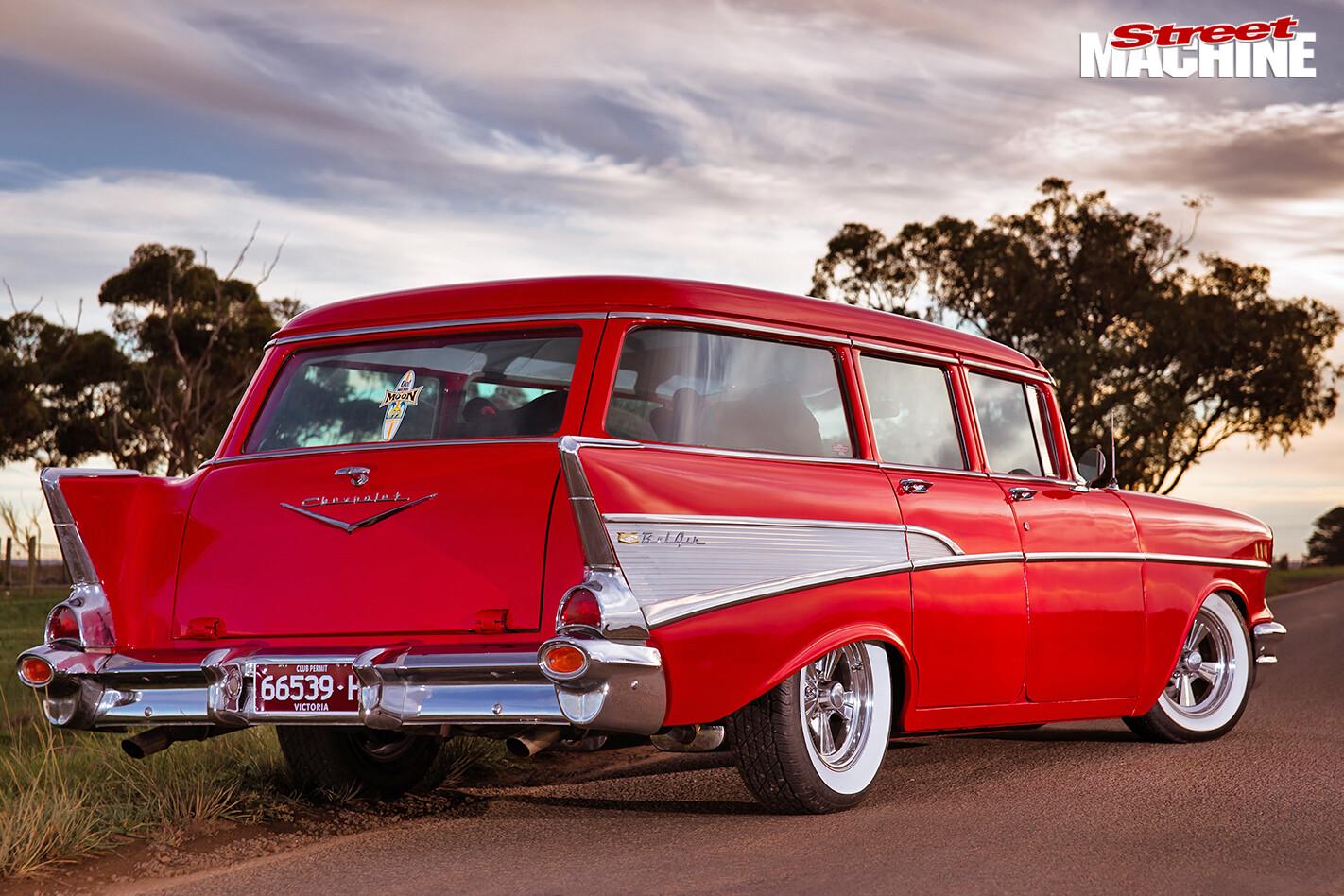 Chevrolet -wagon -rear