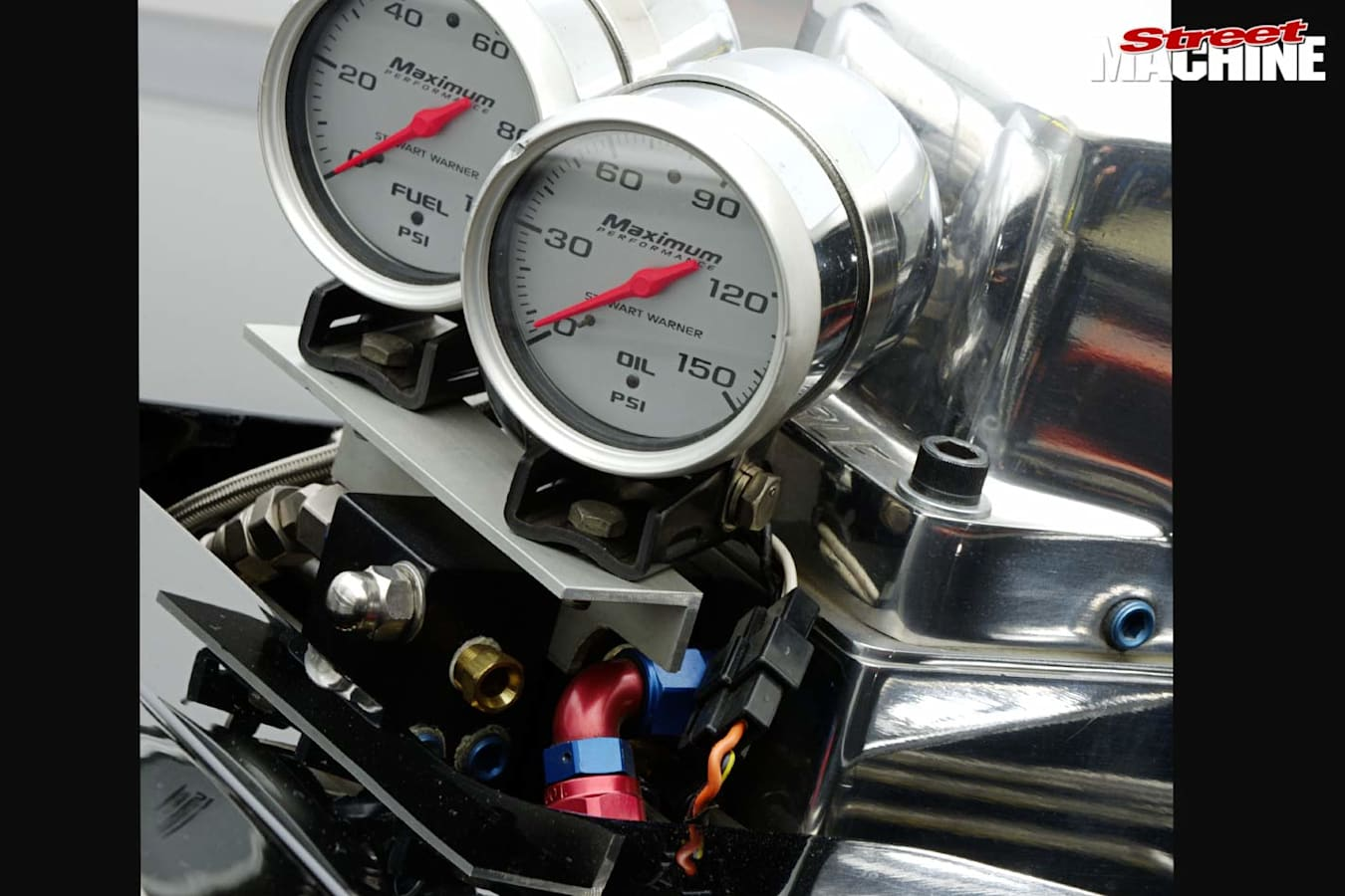 1957 Chev gauges