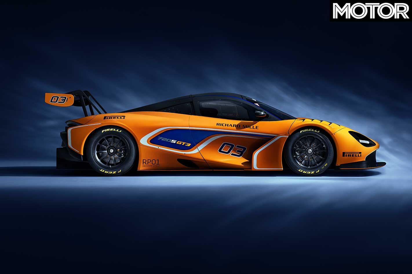Mc Laren 720 S GT 3 Side Profile Jpg