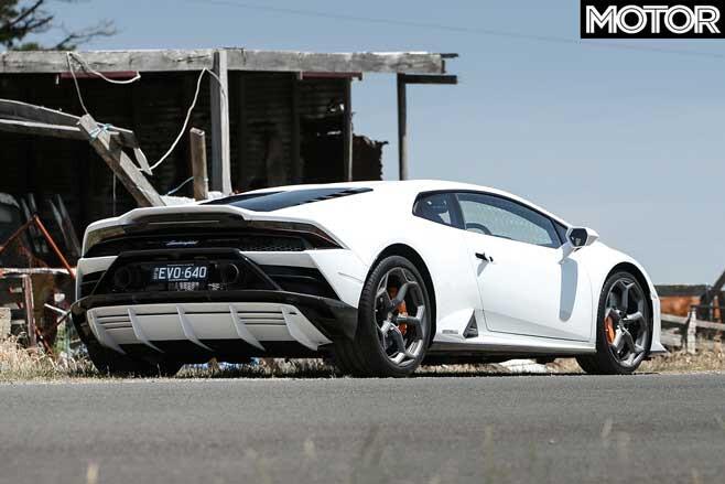 Lamborghini Huracan Evo Rear Jpg