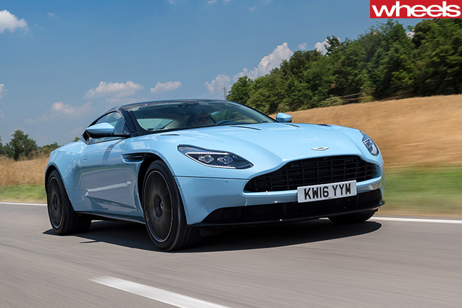 Aston -Martin -DB11-front -side -driving